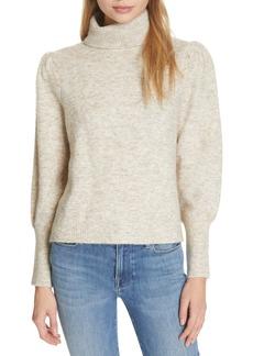 FRAME Swingy Turtleneck Sweater
