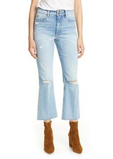 FRAME Sylvie Heritage Kick Boot Jeans (Stunt)