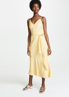 FRAME Tie Slip Dress