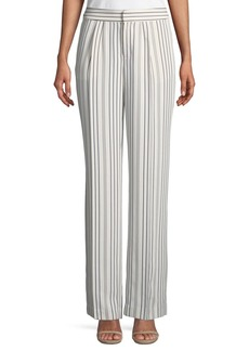 FRAME True Stripe Straight-Leg Pants