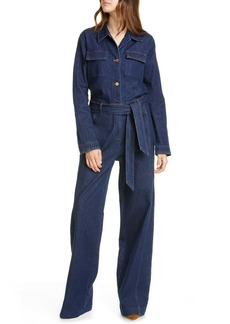 FRAME Vintage Denim Coveralls