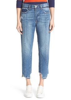 FRAME Vintage Fit High Waist Crop Jeans (Nordstrom Exclusive)