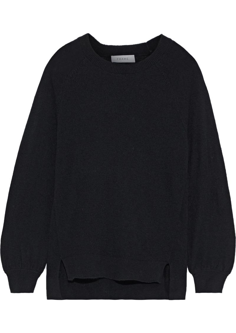 Frame Woman Fine Step Cashmere Sweater Black