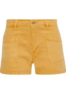 Frame Woman Le Bardot Denim Shorts Marigold