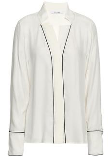 Frame Woman Silk Shirt Ivory