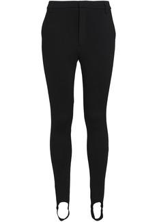Frame Woman Wool-blend Jersey Slim-leg Stirrup Pants Black