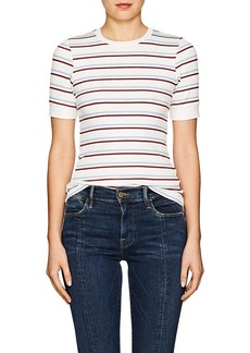 FRAME Women's 70s Striped Fitted T-Shirt