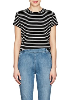 FRAME Women's Classic Striped Jersey T-Shirt