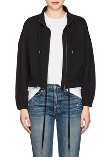 FRAME Women's Cotton Terry Crop Jacket
