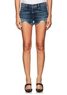 FRAME Women's Le Cutoff Distressed Denim Shorts