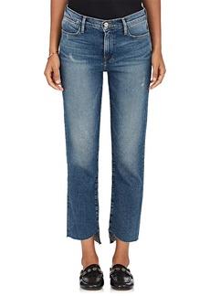 FRAME Women's Le High Cascade Hem Straight Jeans