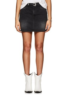 FRAME Women's Le Mini Denim Skirt
