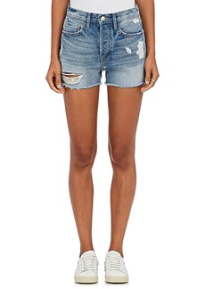 FRAME Women's Le Original Distressed Denim Cutoff Shorts