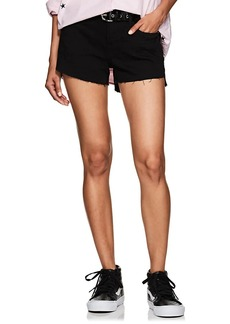 FRAME Women's Mid-Rise Denim Shorts