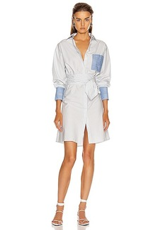 FRAME Wrap Shirtdress
