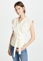 FRAME Wrap Sleeveless Top