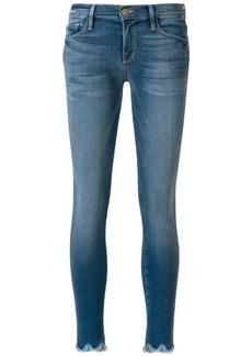 FRAME frayed hems jeans