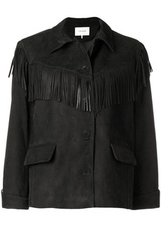 FRAME fringe button jacket