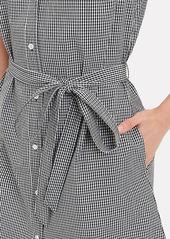 FRAME Gingham Shirtdress