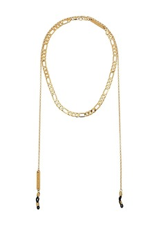 FRAME gold-plated chain choker necklace