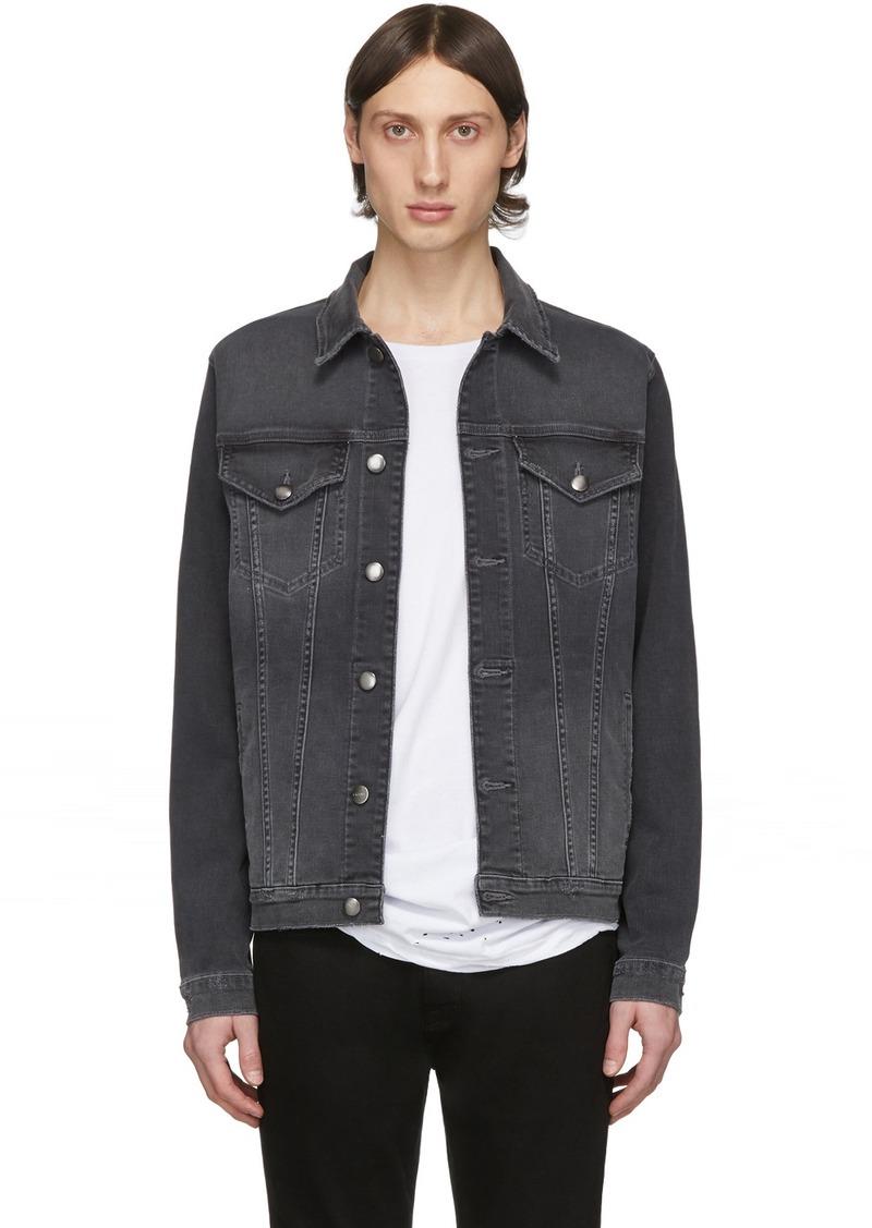 FRAME Grey Denim 'L'Homme' Jacket