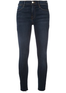 FRAME high-waisted skinny jeans