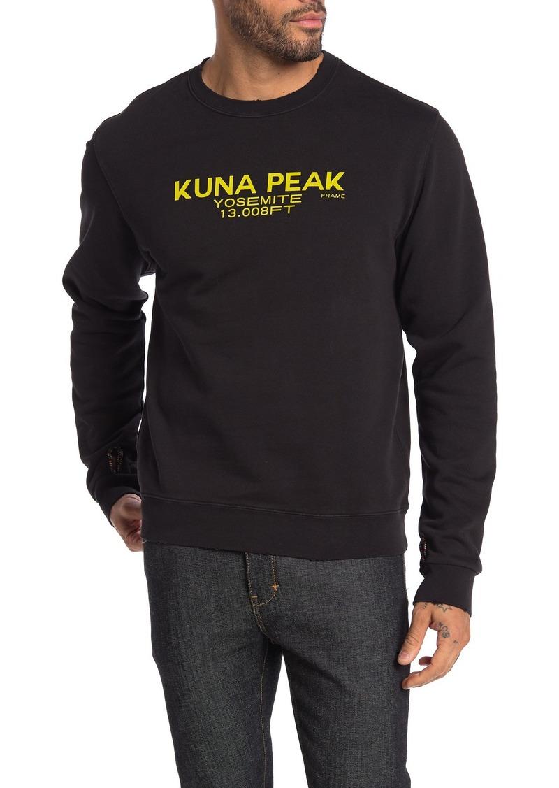 FRAME Kuna Peak Sweatshirt