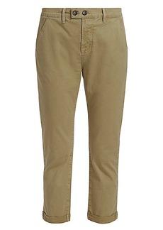 FRAME Le Beau Cropped Chino Pants