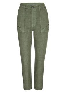 FRAME Le Beau Linen Pants