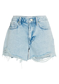 FRAME Le Brigette Denim Cut-Off Shorts