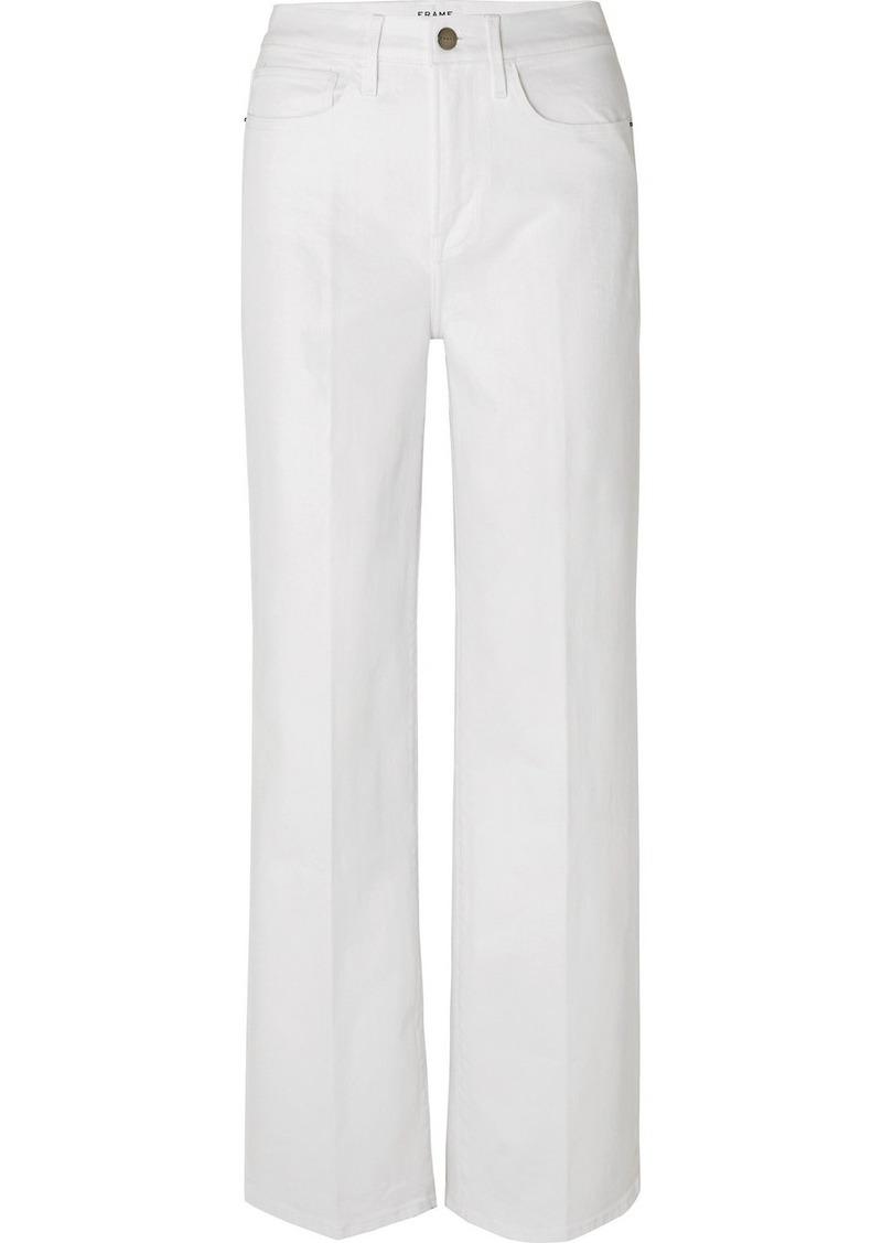FRAME Le California Mid-rise Straight-leg Jeans