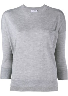 FRAME Le Crew Cashmere Blend Sweater