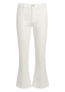 FRAME Le Crop Braided Waistband Jeans