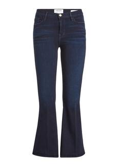 FRAME Le Crop Mini Bootcut Flared Jeans