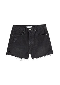 FRAME Le Cutoff Tulip Denim Shorts