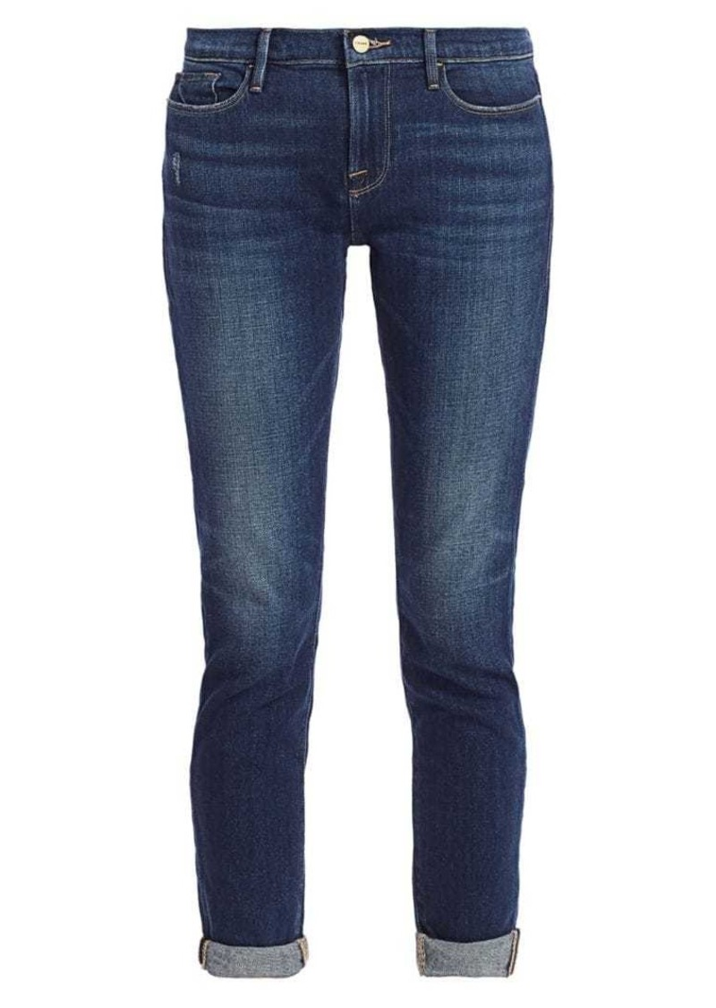 FRAME Le Garcon Cropped Jeans