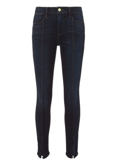 FRAME Le High Felt Split Jeans