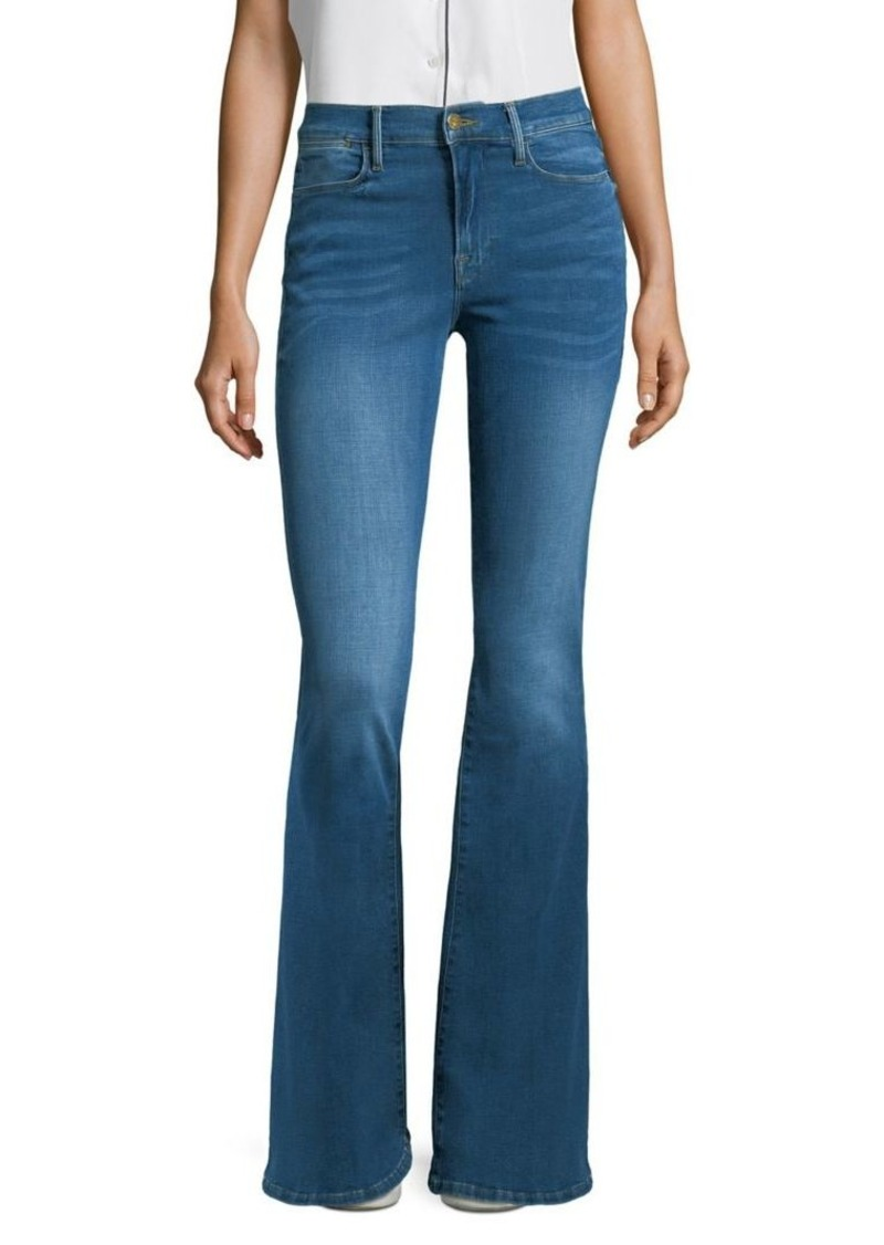 0d14b0bb3dcd5 FRAME Le High Flare Columbus Jeans