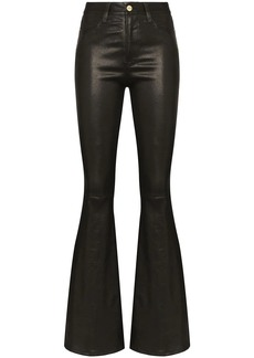FRAME Le High flare trousers