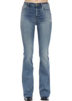 FRAME Le High Flared Stretch Denim Jeans
