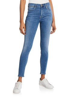 FRAME Le High Skinny Ankle Jeans
