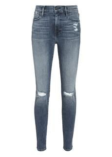 FRAME Le High Skinny Magellan Jeans