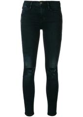 FRAME Le high waisted skinny jeans