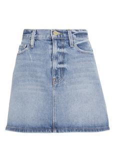 FRAME Le Mini Majorelle Denim Skirt