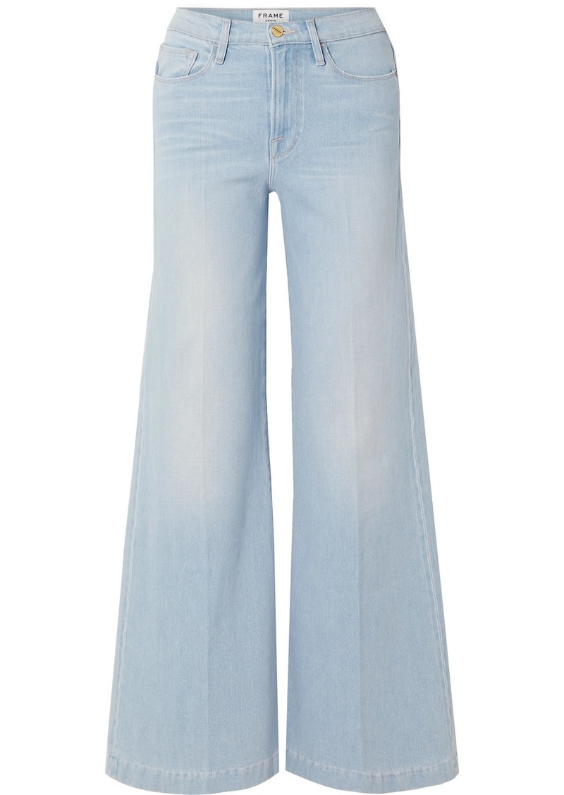 Le Palazzo High-rise Wide-leg Jeans
