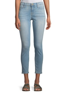 FRAME Le Skinny Cropped Low-Rise Jeans