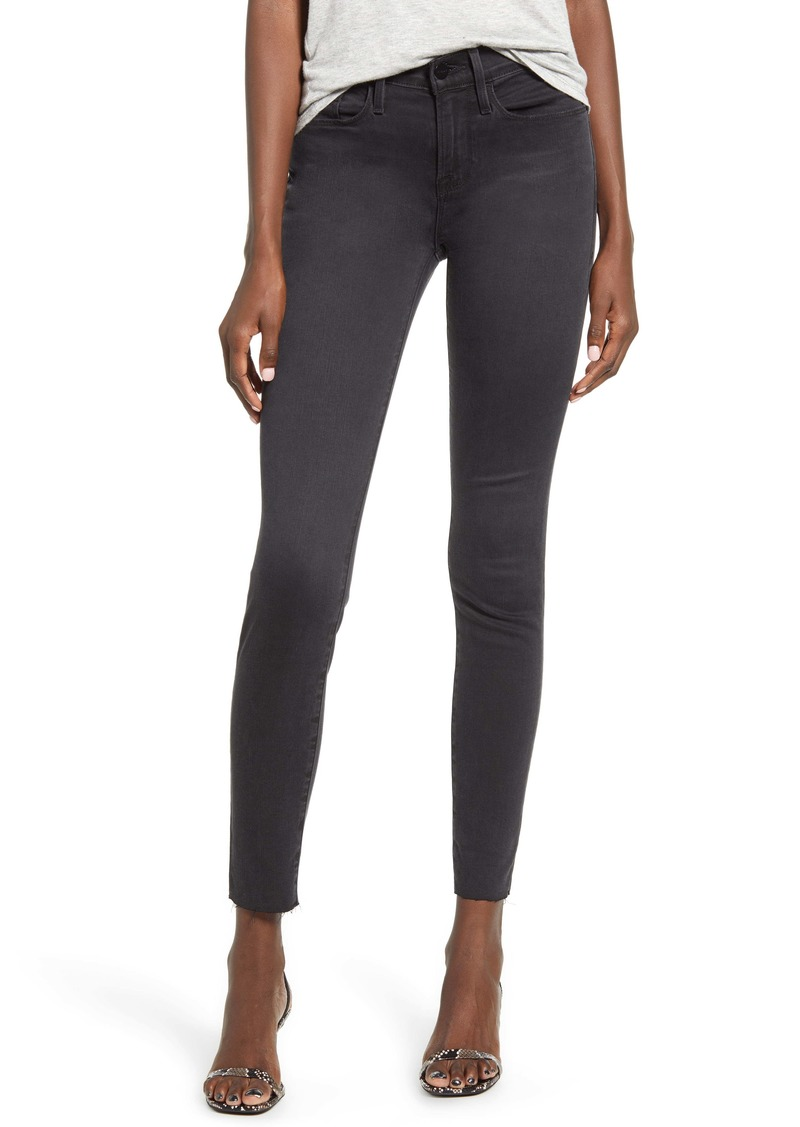 FRAME Le Skinny de Jeanne Raw Hem Ankle Skinny Jeans (Kerry)