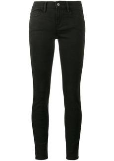 FRAME Le Skinny de Jeanne Black Low Rise jeans