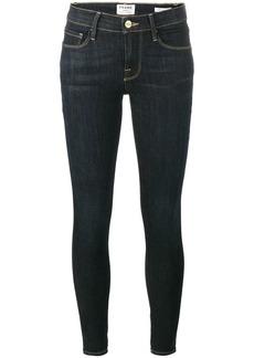 FRAME Le Skinny de Jeanne Blue Low Rise Jeans