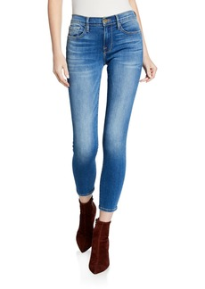 FRAME Le Skinny De Jeanne Cropped Ankle Jeans